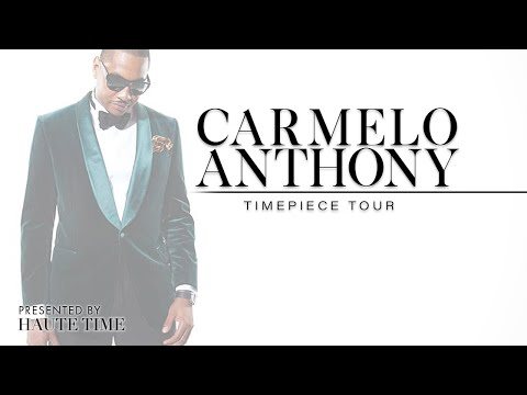 Carmelo Anthony: Haute Horlogerie's Coolest Icon Opens Up
