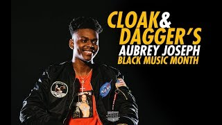 Cloak & Dagger's Aubrey Joseph Talks Aaliyah, Black Music Month And More