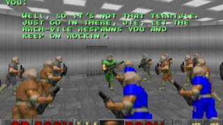 GZDoom - Town Infection Doom 2 Mod - Beta Stage 1 - Map06
