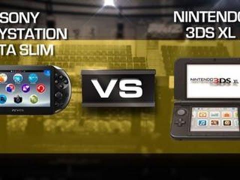 Sony PS Vita Slim vs Nintendo 3DS XL