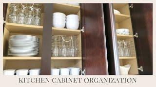 HOME ORGANIZATION TIPS | Kitchen Cabinet Organization