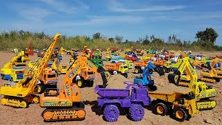 Building Blocks Toys For Children | Dump Truck Excavator Tractor Transport Animals For Kids