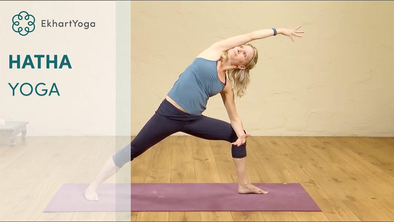 Hatha Yoga at Home - YouTube
