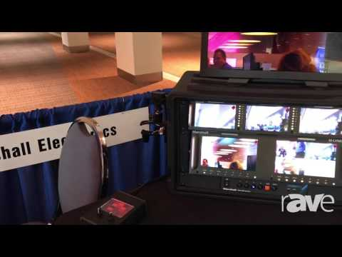 AVI LIVE: Marshall Electronics Shows CB505 AND CB225 Miniature Cameras