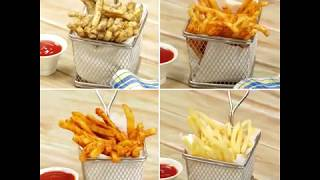 How to Make 4 Ways French Fries
