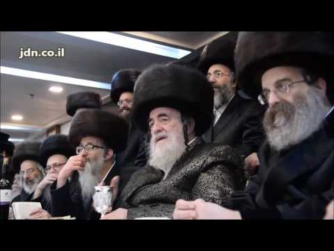 Viznitzer Rebbe Encourages The New Hit Song  Shuva - Teves 5777