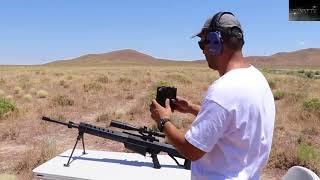 Nghịch Ngu Dùng Súng Barrett M99 bắn vào cục sắt sẽ NTN