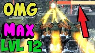 War Robots Mk-2 MAXED Trebuchet Fury Gameplay