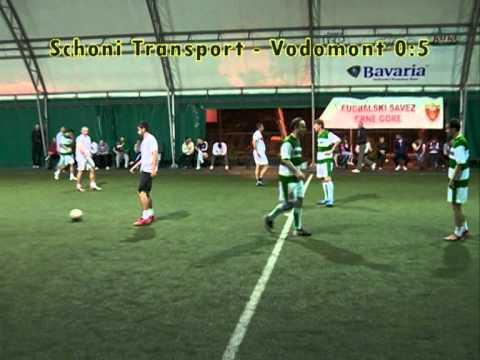 Mini fudbal na TV777, četvrtfinale kupa, Schoni Transport - Vodomont