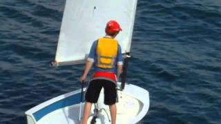 Kids Learning to Sail at High Performance Sailing Sydney Australia