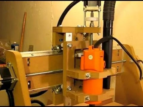 Z Axis Upgrade for Homemade DIY CNC Router