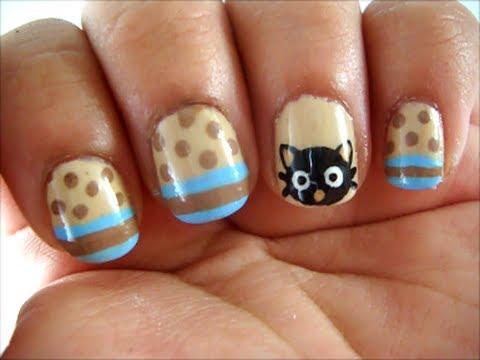 CUTE Chococat Nail Art