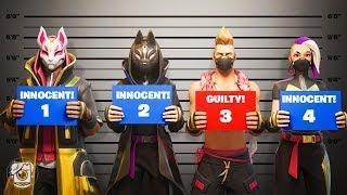 WHICH Drift is the MURDERER?! *SEASON X* (Fortnite Murder Mystery)