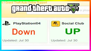 GTA 5 Completely Broken On PS4?!? - Huge Error Breaks Game & Prevents Playing At All! (GTA 5)