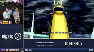 #ESASummer18 Speedruns - Dissidia: Final Fantasy [Any%] by Leonis07