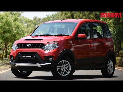 Mahindra NuvoSport - First Drive Review