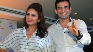 Huma Qureshi & Irfan Pathan Love Eating Food