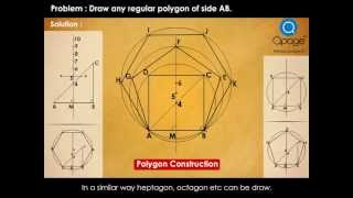 Basic Construction of Regular polygon