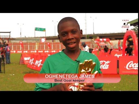 Copa Coca-Cola Nigeria Golden Glove - James Oghenetega