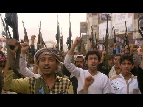 Rare look inside battle-torn Yemen