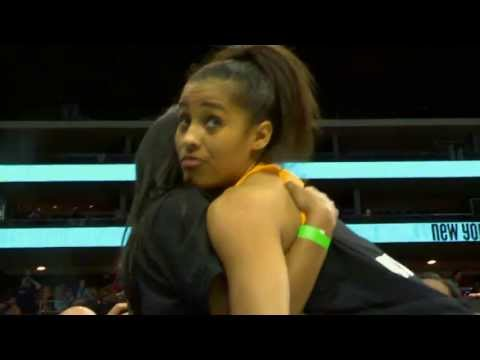 All-Access: Skylar Diggins  New York Debut