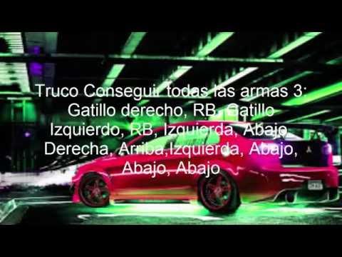 TRUCOS PARA GRAND THEFT AUTO SANANDREAS PARA XBOX 360
