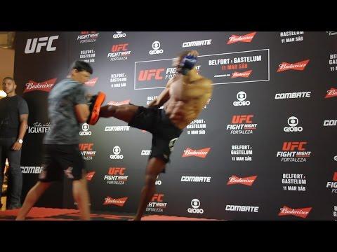 Edson Barboza UFC Fight Night 106 Open Workout
