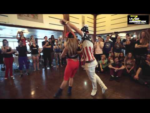 Kamacho + Deborah Zagha - LA Zouk Congress 2016 - Demo - Saturday