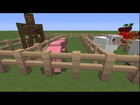 Minecraft Texture Pack Preview - Lolita Princess Pack