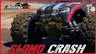 RC Truck Insane Cartwheels Crash