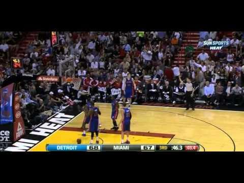 LeBron Leads Heat To 25th Straight Win | Miami Heat vs. Detroit Pistons (Full Recap) March 23, 2013