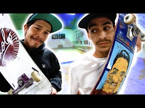 CARLOS VS. VINNIE | MOST REQUESTED GAME OF SKATE