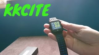 KKCITE Smart Phone Watch Hands on Unboxing Review
