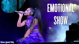 Ariana Grande Getting Emotional - Pittsburgh (Sweetener / Thank U Next Tour)