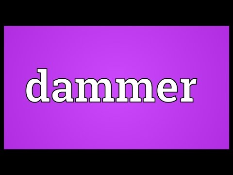 Header of dammer