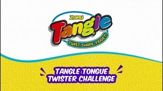 ZURU Team Takes on Tangle Tongue Twister Challenge! | Funny Video
