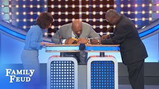 That's not the buzzer, Mike!!! | Family Feud