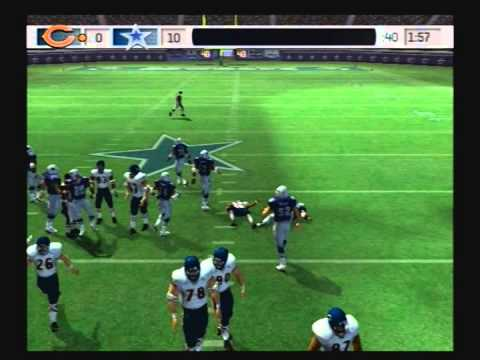 Madden NFL 07 Historic Teams Playoffs 1985 Chicago Bears vs 1992 Dallas Cowboys Video Game Simulation Video Game (Video Game Genre) PlayStation 2 (Video Game...