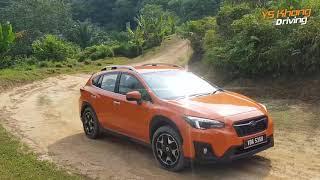 Subaru XV Symmetrical All-Wheel Drive Test | YS Khong Driving