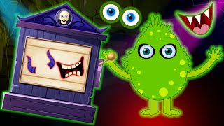 Midnight Magic - Guess The Funny Missing Face With The Slot Machine | Finger Family Songs