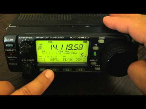 Icom IC-706MKIIG prezentacja review