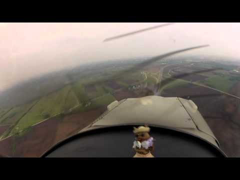 Cubs 2 OSH - Mass Arrival Navigation - HXF to Airventure
