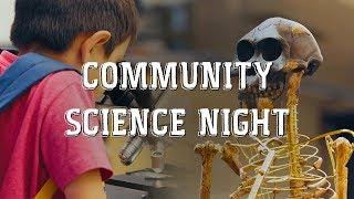 Community Science Night 2018