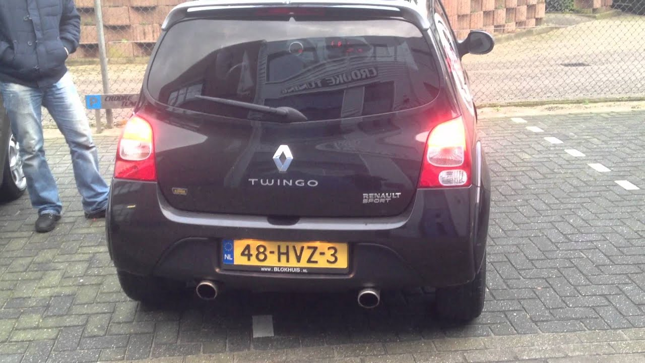 renaul twingo rs exhaust crooke tuning sound file1 youtube. Black Bedroom Furniture Sets. Home Design Ideas