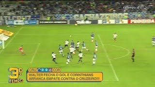 Melhores momentos Cruzeiro 0 x 0 Corinthians