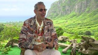 Jeff Goldblum talks Taika Waititi's fashion and Jurassic World: Fallen Kingdom | Newshub
