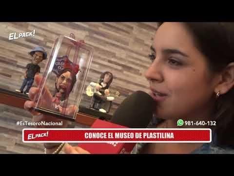 El Pack: VALERIA FLÓREZ FUE AL MUSEO DE LA PLASTILINA - AGO 23 - 3/5 | Willax
