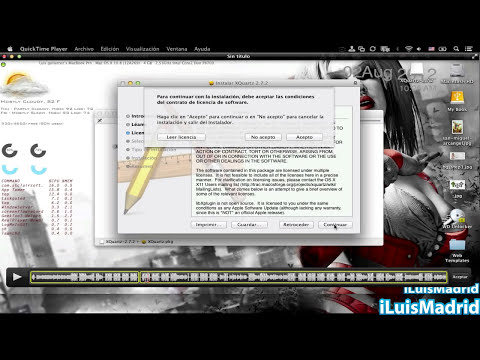 Como extraer audio de videos en mac con quicktime.
