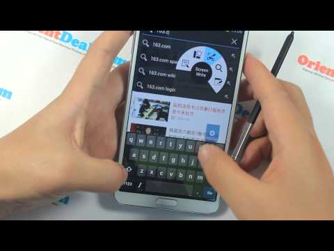 Samsung Galaxy Note 3 N9000 Clone? with AIR Gesture and Eye Control