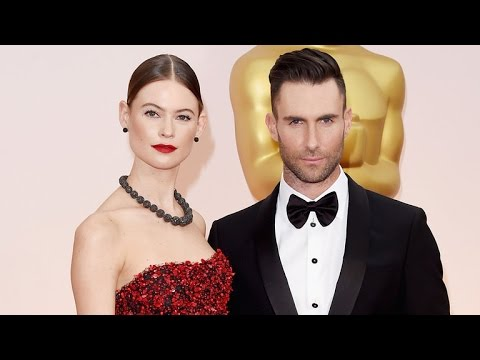 EXCLUSIVE: Behati Prinsloo Explains Adam Levine's Massive Back Tattoo, Reveals Her Bikini Body Se…